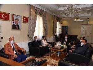 Marmaris Ticaret Odası Yönetim Kurulu'ndan Vali Orhan Tavlı'ya Ziyaret