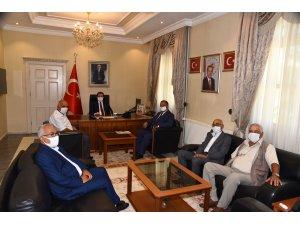 Menteşe Ziraat Odası'ndan Vali Orhan Tavlı'ya Hayırlı Olsun Ziyareti