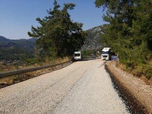 Muğla Büyükşehir'den Marmaris'te 18 KM  yol Çalışması Daha