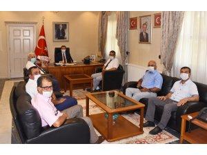 Milas Muhtarlar Derneği'nden Vali Orhan Tavlı'ya Ziyaret