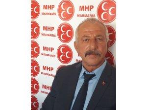MHP Marmaris İlçe Başkanı Kemal Kalemci: 15 Temmuz sadece bir darbe girişimi değildir