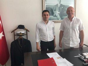 Başkan Gökmen: Marmaris Sahil Güvenlik Güney Ege Grup Komutanı Binbaşı Süleyman Ercan'ı ziyaret etti
