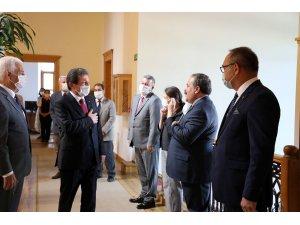 Vali Orhan Tavlı'dan Başkan Gürün'e Ziyaret