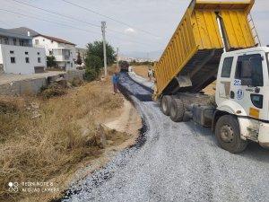 Milas Belediyesinin sathi asfalt çalışmaları sürüyor