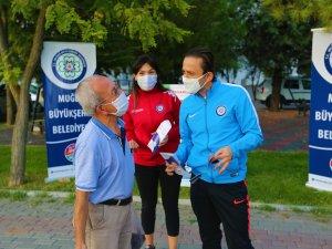 """Muğla Büyükşehirden """"Bilinçli Spor Sağlıklı Gelecek"""" Etkinliği"""