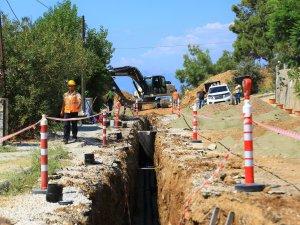 Hisarönü-Ovacık Kanalizasyon Hattının Yüzde 20'si Tamamlandı