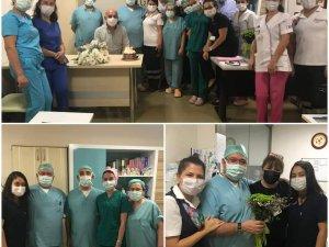 Ahu Hastanesi Dünya anestezi gününü kutladı