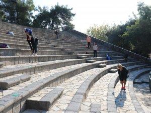 Marmaris Amfi Tiyatroda Spor