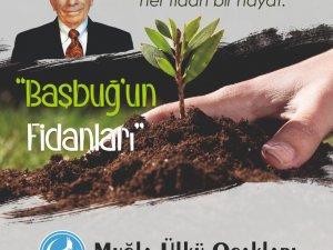 Muğla Ülkü Ocakları'ndan Başbuğ Alparslan Türkeş Hatıra Ormanı