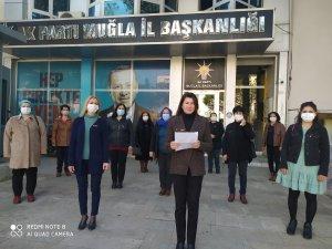 AK Parti'li kadınlar şiddete karşı tek ses olacak