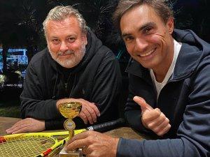 """Behzat Gerçeker """"Göcek Uluslararası Tenis Turnuvası'nda Şampiyon"""
