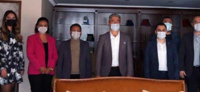Ak Partililerden Başkan Oktay'a Ziyaret