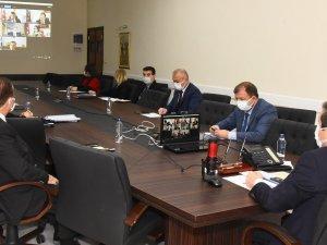 Vali Orhan Tavlı'dan Pandemiyle Mücadele Toplantısı