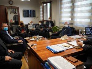 CHP'li Başkanlardan Ve Milletvekillerinden Başkan Tokat'a Ziyaret