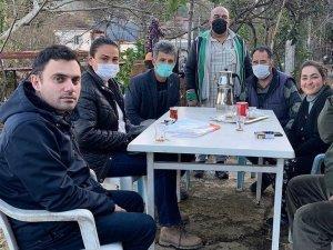 Ak Parti Marmaris İlçe Teşkilatından Yangın Seferberliği