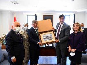 Ahmet Davutoğlu Fethiye'de
