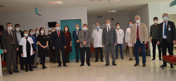 """Muğla Eğitim ve Araştırma Hastanesi """"Ulusal Yenidoğan İşitme Tarama Referans Merkezi"""" Oldu"""