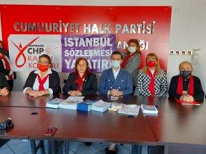 CHP'li Kadınlardan Kaymakama Kınama!