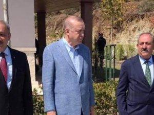 CUMHURBAŞKANI ERDOĞAN MARMARİS'TE