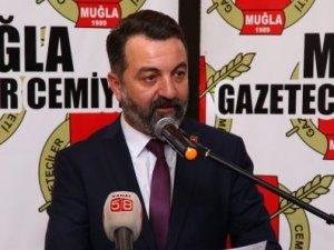 """Muğla Gazeteciler Cemiyeti Başkanı Akbulut:""""Aşılanma hakkı sınırlandırılmamalı"""""""