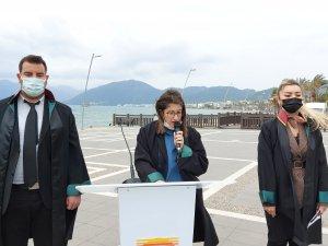 Marmaris'te 5 Nisan Avukatlar Günü dolayısıyla tören düzenlendi