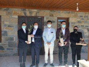 Muğla Valisi Orhan Tavlı, Alpay Mermer A.Ş.'yi Ziyaret Etti