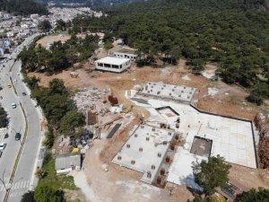 Marmaris Devlet Hastane İnşaatı Devam Ediyor