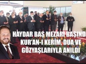 PROF. DR. HAYDAR BAŞ'IN VEFATININ 1. YIL DÖNÜMÜ