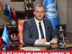 Ülkü Ocakları İl Başkanı Burak Demirel'in 23 Nisan Ulusal Egemenlik ve Çocuk Bayramı Mesajı Yayımladı.