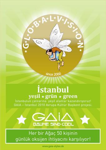 Istanbul Gaia Çevre Projesi kapsamında 2010 Ilk Adım…