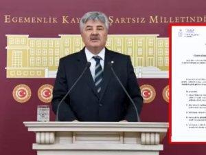 Milletvekili Ergun'dan, Binali Yıldırım'ın oğlu hakkında soru önergesi
