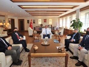 Aquamasters Yönetim Kurulu Başkanı Selçuk Demirel, Muğla Valisi Orhan Tavlı'yı Ziyaret Etti