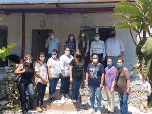 Ak Partililer Evi Yanan Vatandaşın Evini Yeniden İnşa Ettiler