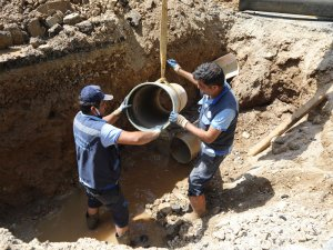 Bodrum Konacık'ta 2 Bin Metre İçme Suyu Hattı Yenilendi