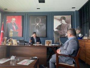 YEREL BASIN BİRLİĞİ'NDEN BTP LİDERİNE ZİYARET