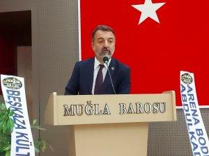 Muğla Gazeteciler Cemiyeti Başkanı Akbulut, Güven Tazeledi
