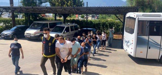 Fethiye'de fuhuş operasyonu: 7 tutuklama