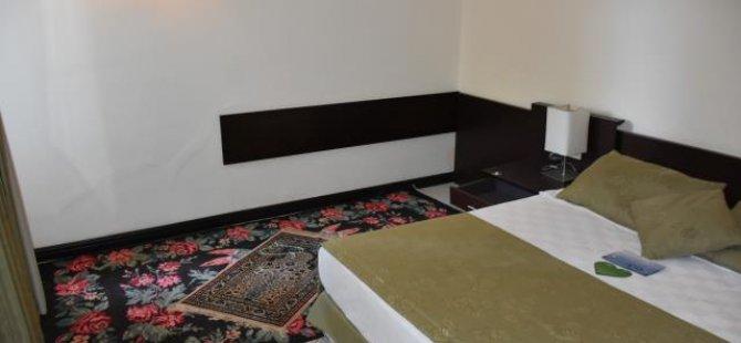 Cumhurbaşkanı Erdoğan'ın konakladığı oteldeki hain darbe girişiminin izleri muhafaza ediliyor
