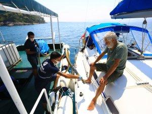 Bayramda denizlerden 268 bin 145 kilo katı atık toplandı