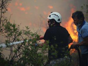 Marmaris'te ilk belirlemelere göre;1 fabrika, 10 ev, 1 araç yandı