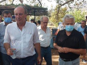 Memleket Partisi Genel Başkanı Muharrem İnce: Birisi size otobüsten çay atarsa, sizde geri fırlatın korkmayın!