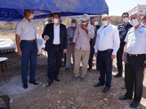 Muğla Valisi Orhan Tavlı, Seydikemer'de İncelemelerde Bulundu
