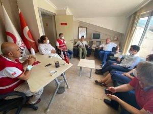 Vekil Demir Türk Kızılay Marmaris Şubesine Teşekkür Etti