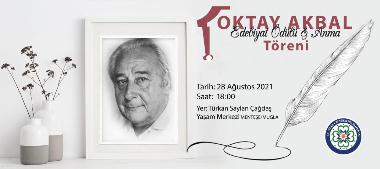 Oktay Akbal Edebiyat Ödülü Töreni 28 Ağustos'ta