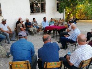 İYİ Parti Isparta Milletvekili Dr. Aylin Cesur Köy Ziyaretlerine Devam Etti