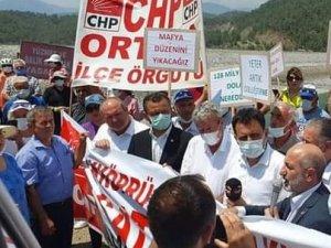 CHP'li Erbay; Akköprü Barajı'nı da sattınız. Yazıklar olsun!