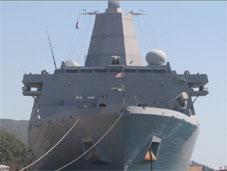 Gözler bu savaş gemisinin üzerinde