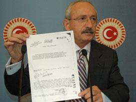 Kılıçdaroğlu CHPye yardımı es geçti