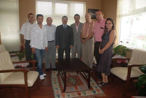 Marmaris Kaymakamı Alaaddin Serdar Polat bu kez Gündem Gazetesi ailesini ağırladı...