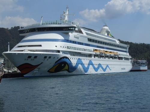 Marmaris'e 2 bin 243 gemi yolcusu geldi